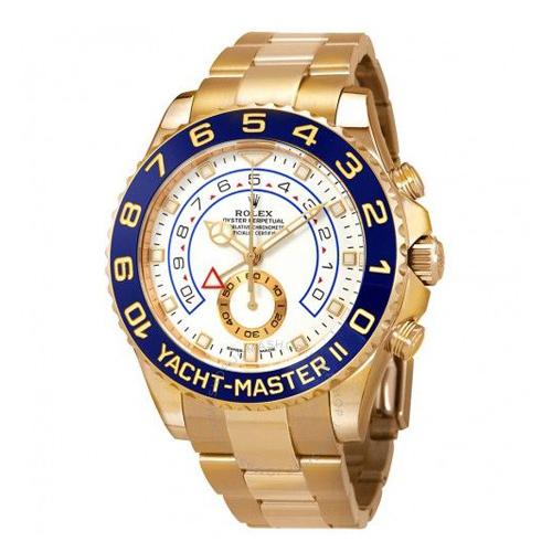 Rolex Yatch Master Golden Wrist Watch