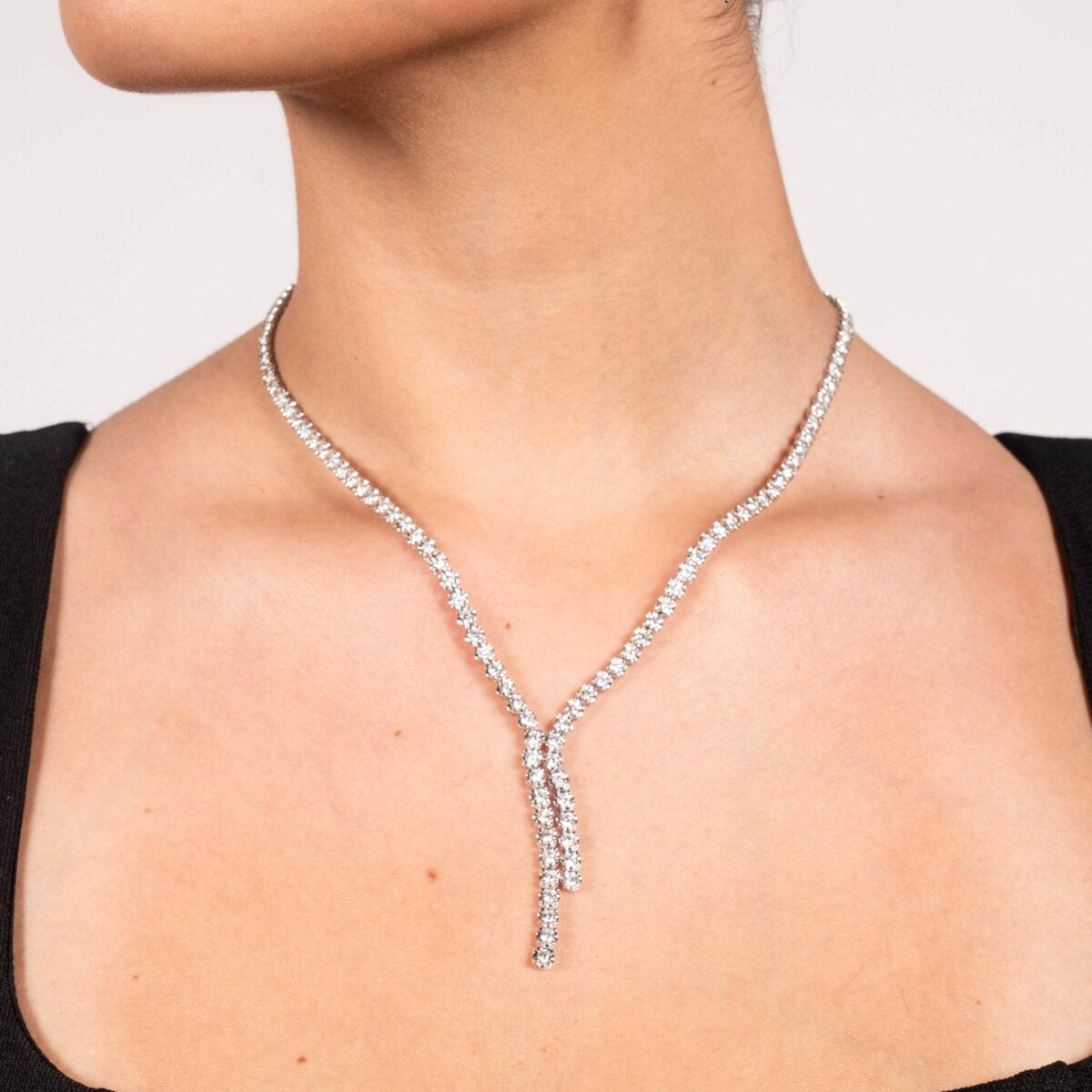 Dimond Tennis Necklace in Sydney