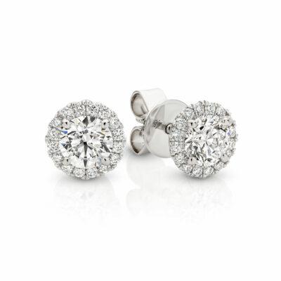 ELEANOR Diamond Wedding earrings in Sydney