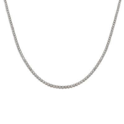 EDITH Diamond Tennis Necklace in Sydney
