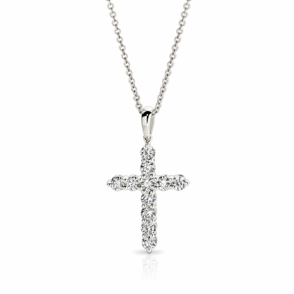 JOAN Cross Diamond Neckless in Sydney
