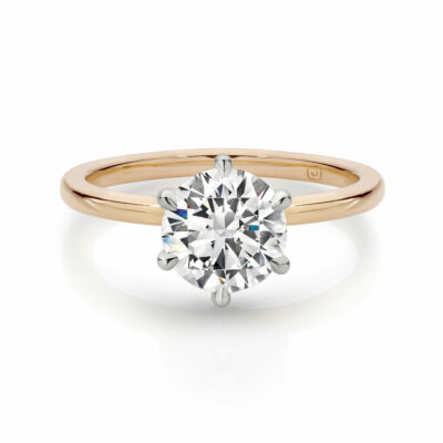 ADELA solitaire Engagement Ring in Sydney
