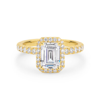 ROMINA Gold and Diamond Engagement Ring in Sydney