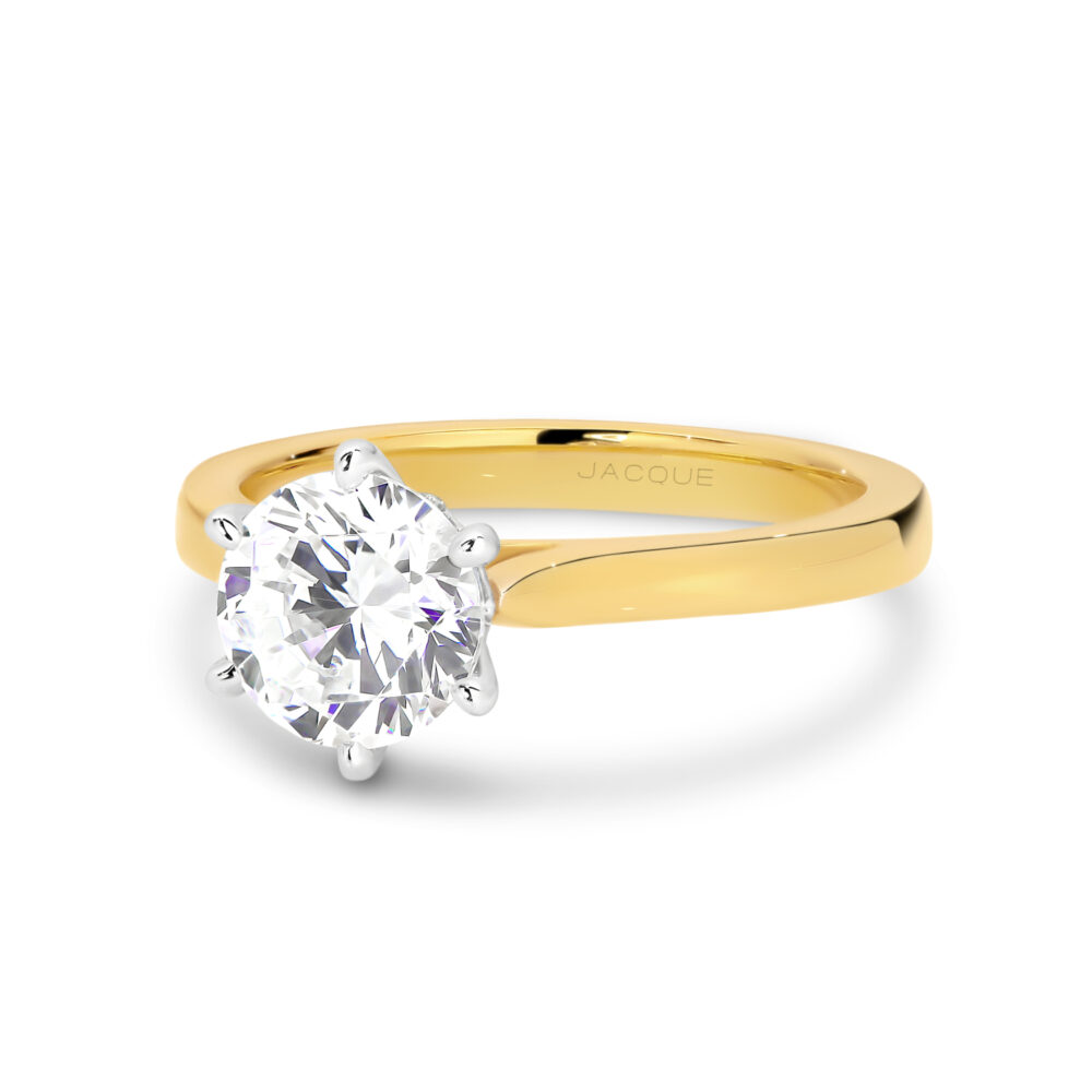 ADELITA Gold and Diamond Engagement Ring in Sydney