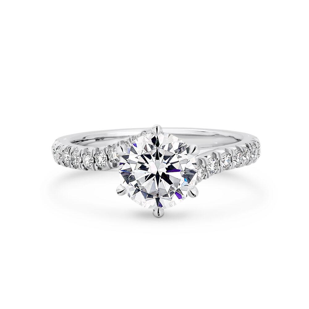 CARMELLA Diamond Engagement Ring in Sydney