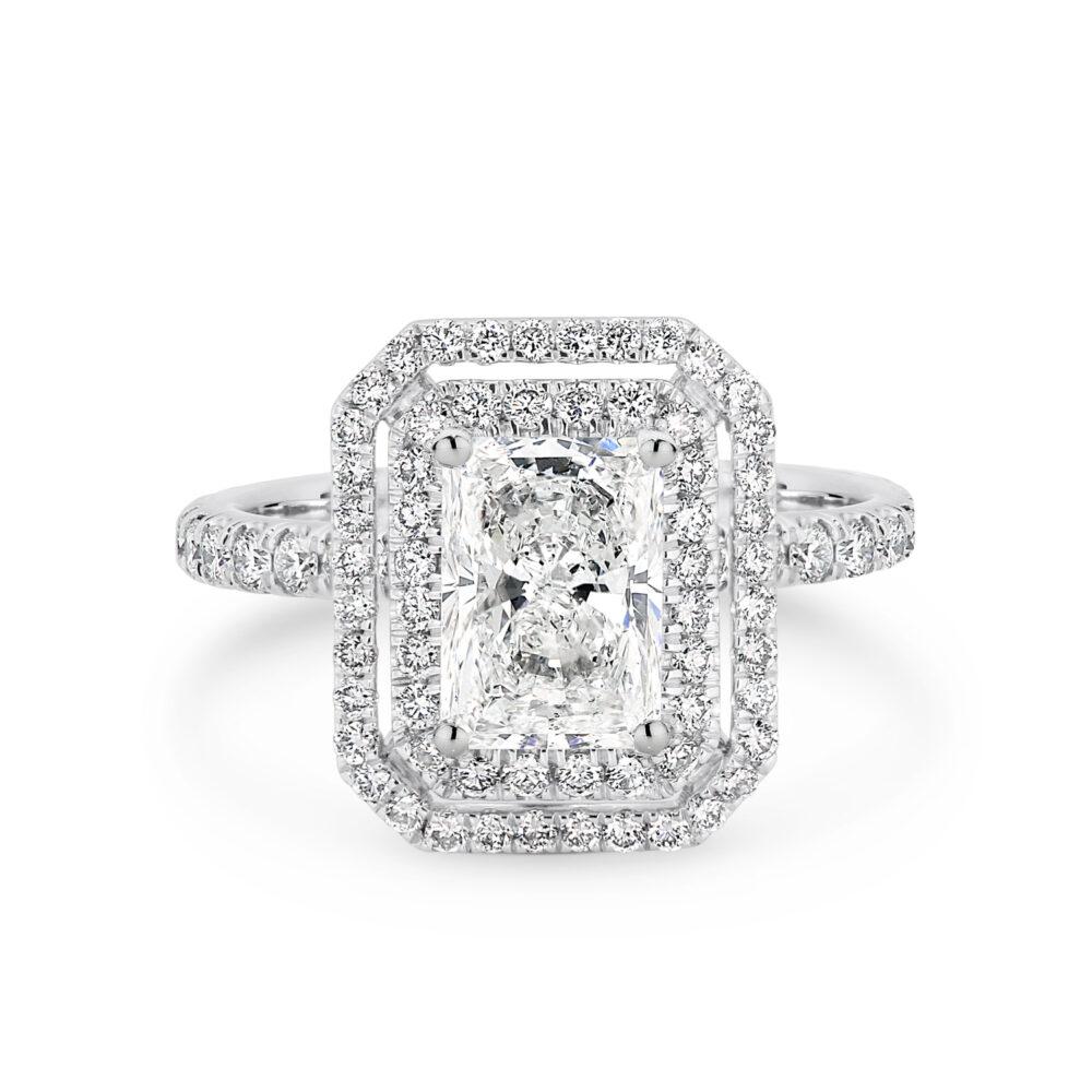 GEORGINE Diamond Engagement Ring in Sydney