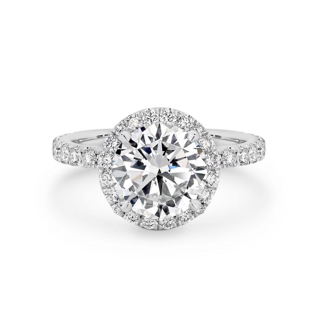 ADALENE Diamond Engagement Ring Sydney