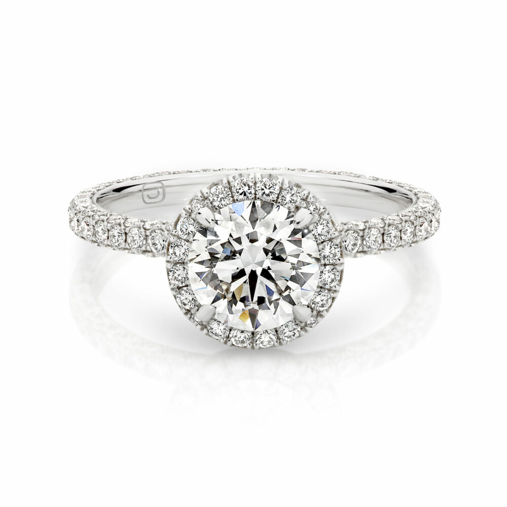 MARGUERITE Diamond Engagement Ring in Sydney