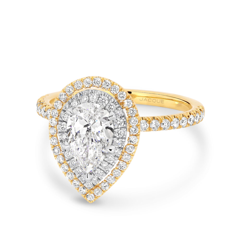 VIOLETTA Gold and Diamond Engagement Ring in Sydney