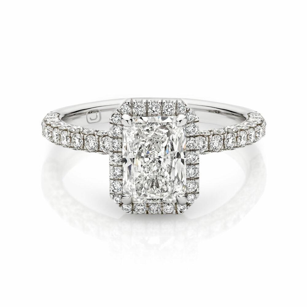 BRIGITTE Diamond Engagement Ring in Sydney
