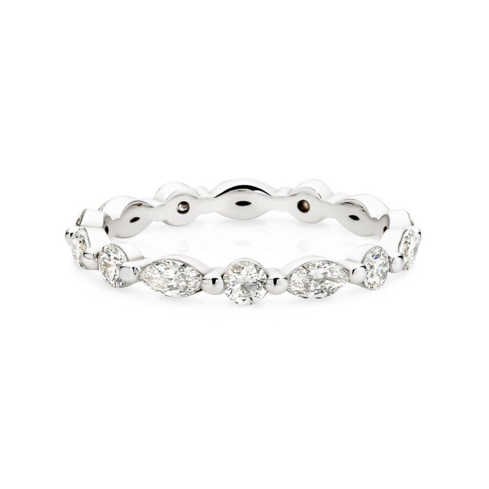 LEONOR Diamond Wedding ring in Sydney