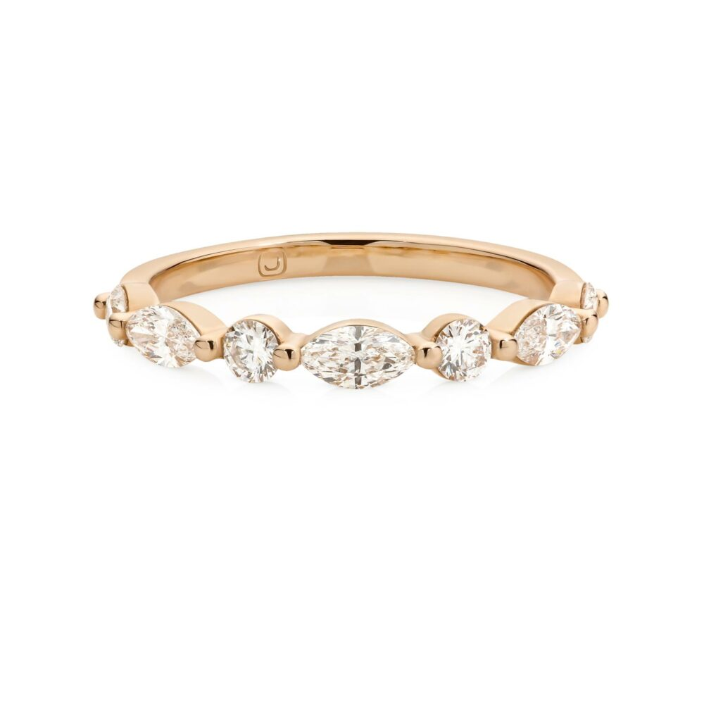 TIANA Gold and Diamond Wedding Ring in Sydney